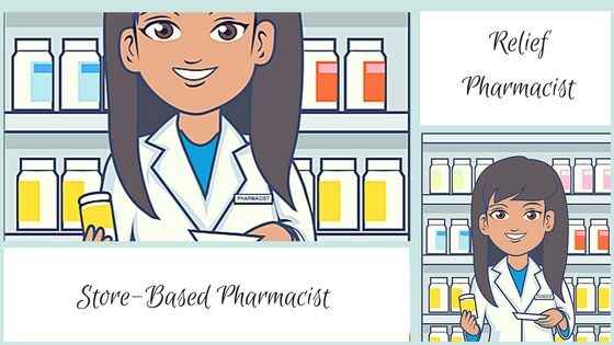Store-Based Pharmacist vs Relief Pharmacist