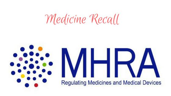 Medicine Recall Sodium Cromoglicate Eye Drops & Murine Hayfever Relief Eye Drops