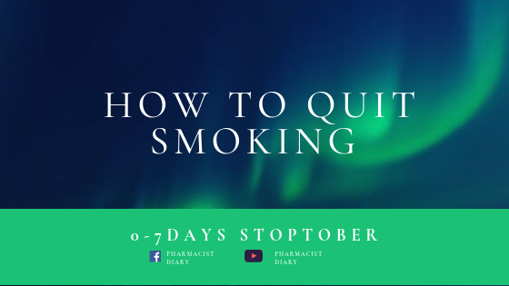 How To Quit Smoking | 0-7days Stoptober